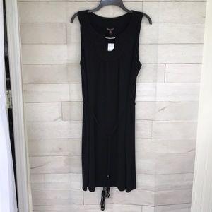 NEW!! Black Dana Buchman aline Dress